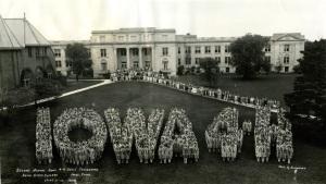 Iowa 4-H Girls Convention 1929
