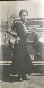 Bonnie Parker (a.k.a. Mrs. Clyde Barrow) circa 1934