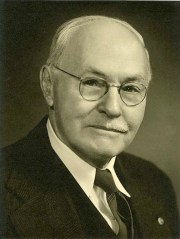 Portrait of Anson Marston from 1942.