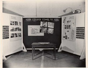 1948 Iowa State Fair display (from University Photographs, box 1329)