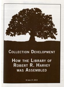 Title page of Harvey's book.