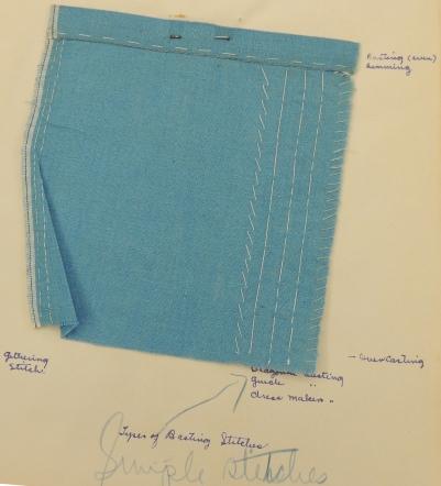 Basting Stitches. RS 21/7/228 Box 4, Folder 14.