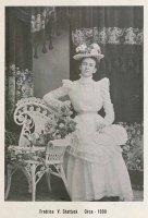 Fredrica Shattuck in 1900.