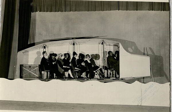 Student vaudeville performance, 1926. Photograph Collection, box 1669.