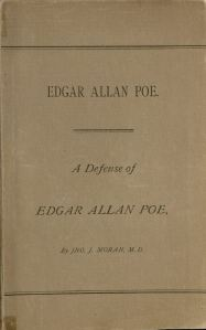 The Special Collections Department holds a few other books related to Edgar Allan Poe, including the one pictured above (PS2631 M6 1885).
