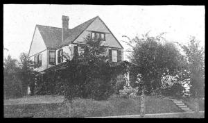House of S. B. Green, St. Anthony Park, Minnesota, after planting, undated.