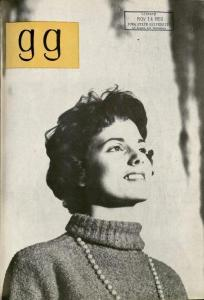 The November 1959 issue of the Green Gander. The cover format was new (and less comical) for this issue.