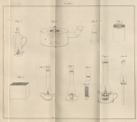 Design for a safety lamp. John Davy. The Collected Works of Sir Humphry Davy. London: Smith, Elder, and Co. 1839-1840. (QD3 D315c)