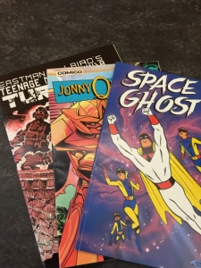 Space Ghost, Jonny Quest, and Teenage Mutant Ninja Turtles. MS 636