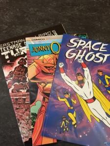 Space Ghost, Jonny Quest, and Teenage Mutant Ninja Turtles. MS 636