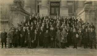 Cosmopolitan Club, 1924. (University Photographs RS 22/3, box 1617) [Bonus: there's some remnants of
