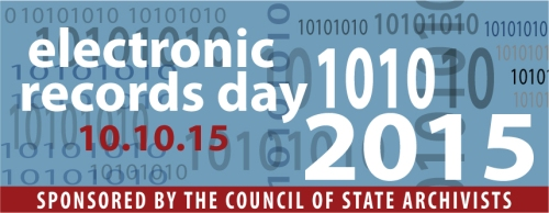 Electronic Records Day logo