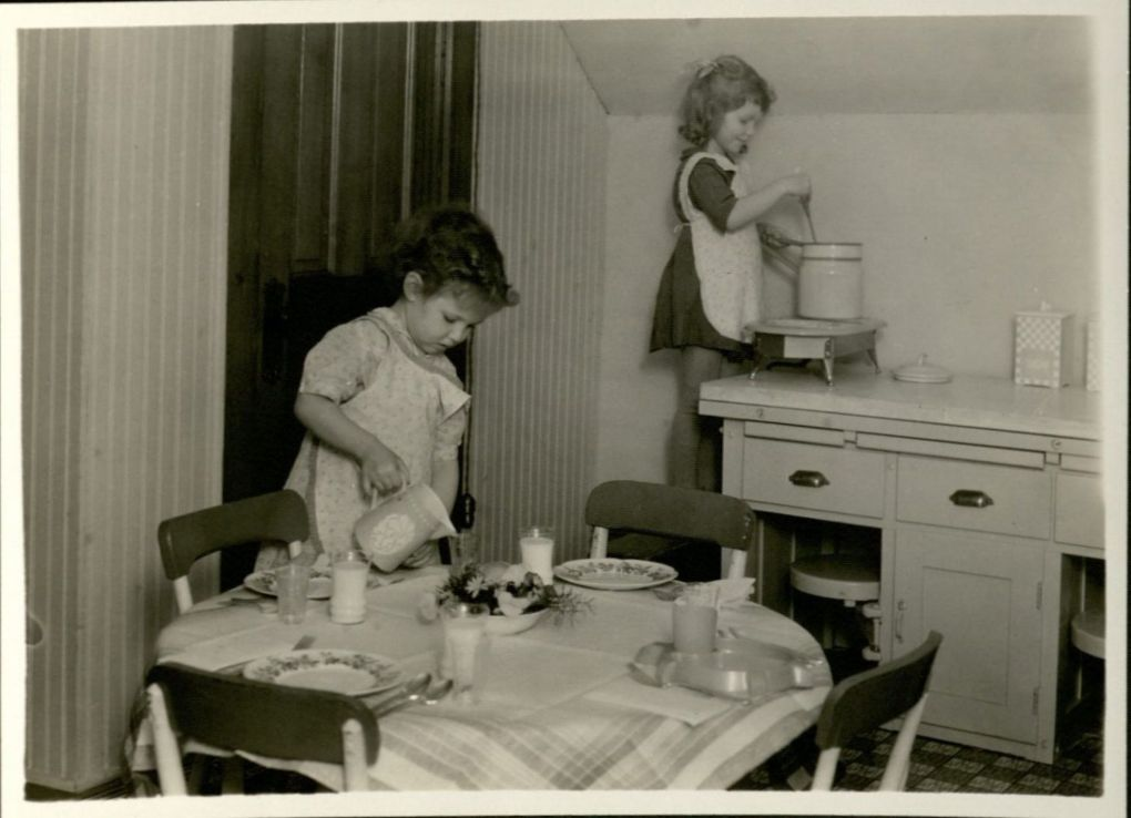 Undated photo from the Department of Human Development and Family Studies. University Photograph Collection box 918.