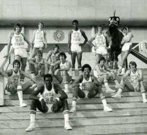 Men's Basketball team, 1975-1976. University Photographs, RS 24/5/D