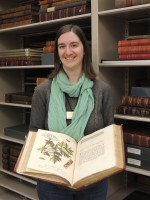 Amy, Rare Books and Manuscripts Archivist.
