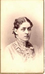 Carrie Chapman Catt's graduation photo, 1880.