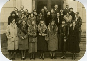 Library staff, 1931-1932