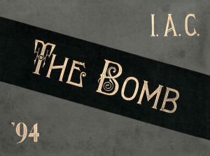 Bomb yearbook 1894