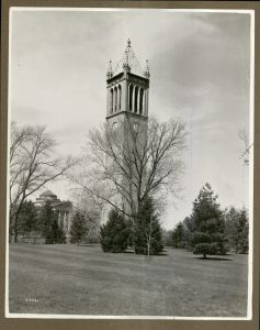 The Campanile, 1938 (University Photographs box 230)