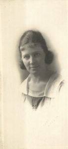 Marie Hall as a young woman