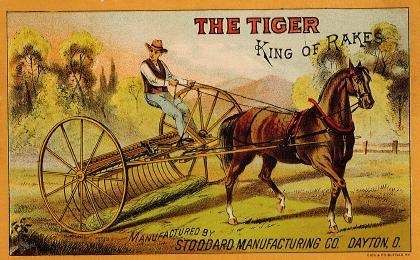 Tiger rake front