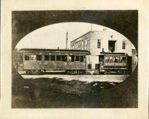 Ames & College Railway Dinkey circa 1900s