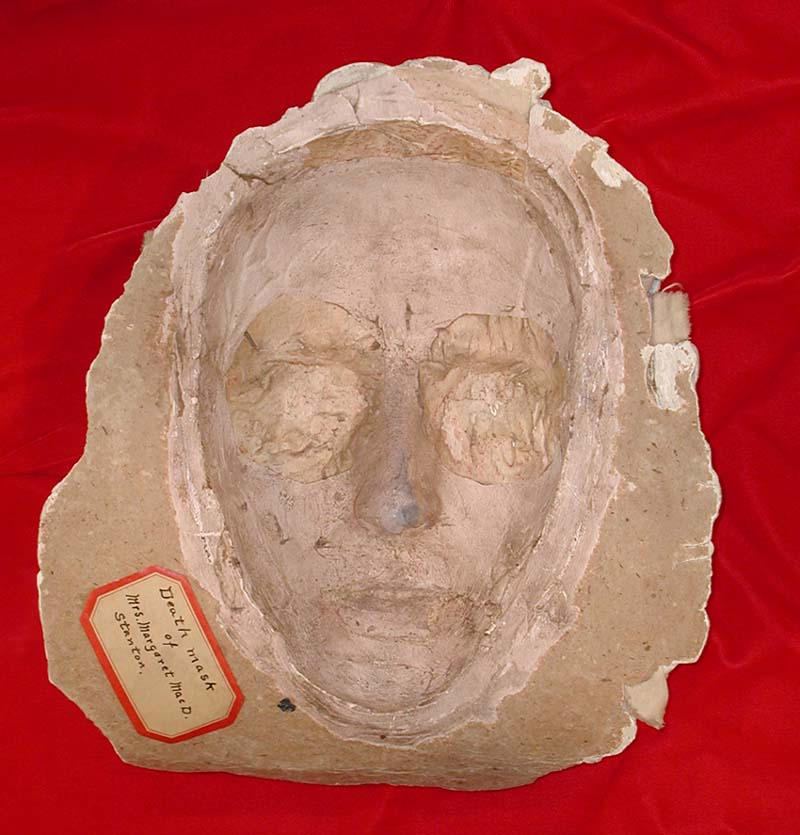Death Mask of Margaret Stanton