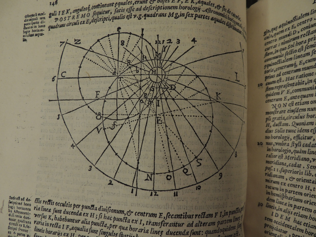 Diagram from Clavius' Gnomonices Libri Octo, page 146.
