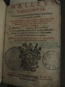 Title page of Malleus Daemonum, 1620.