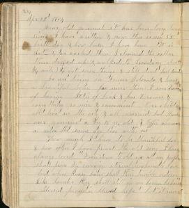 Celestia Lee Barker diary 0006