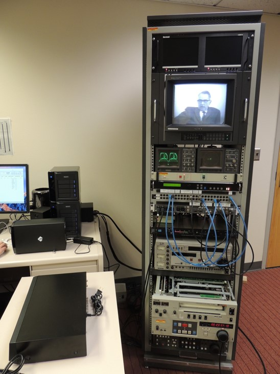 AV digitization workstation 1