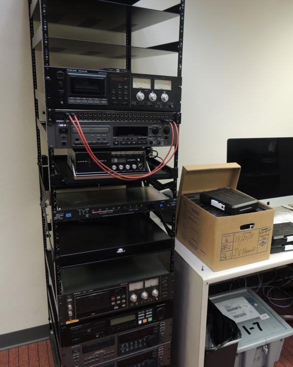 AV digitization workstation 2