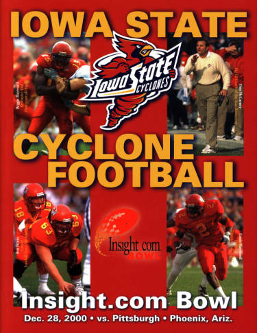 Football program for the 2000 Insight.com Bowl