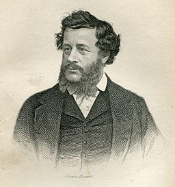 Black and white engraved portrait of Charles Francatelli