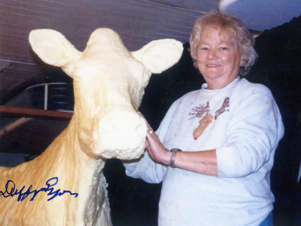 Image 008, Norma and her Butter Cow