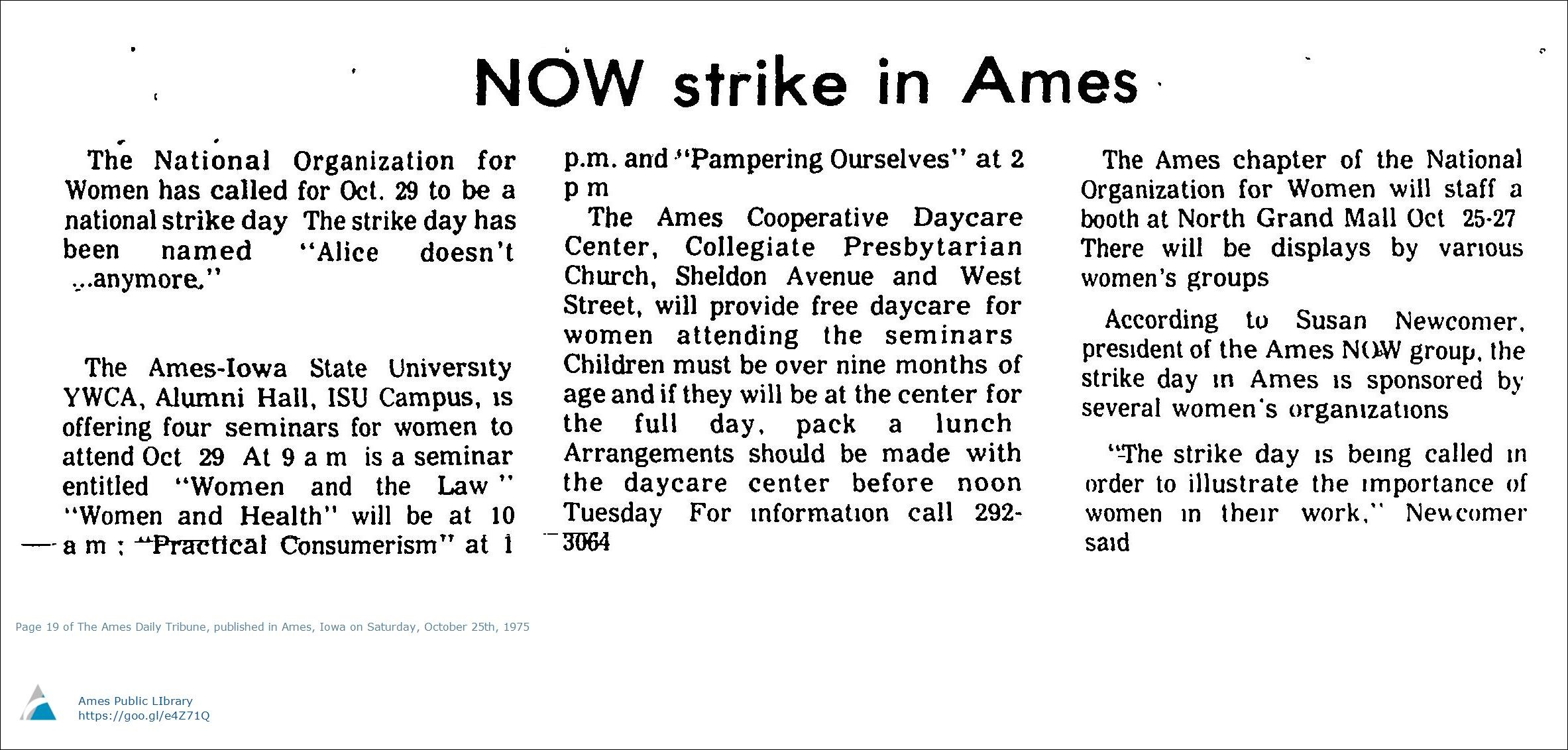 Image from page 19 of the Ames Daily Tribune, October 25th, 1975.