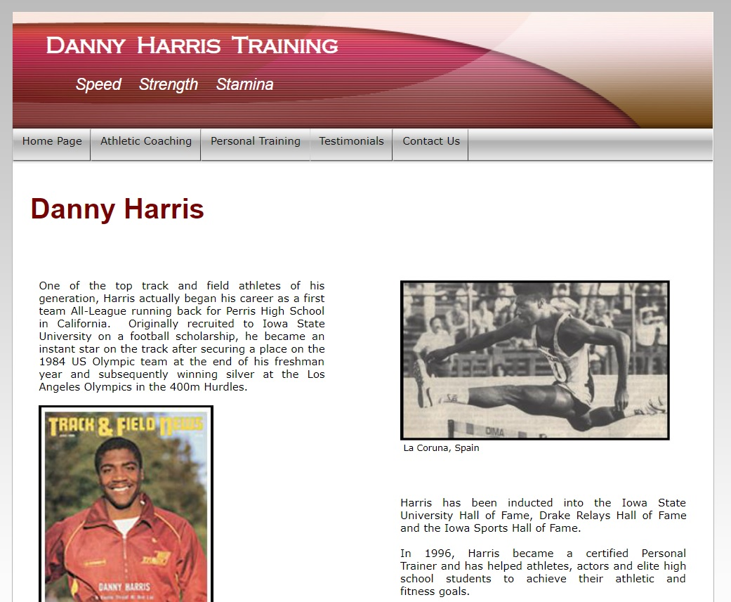 Harris Website