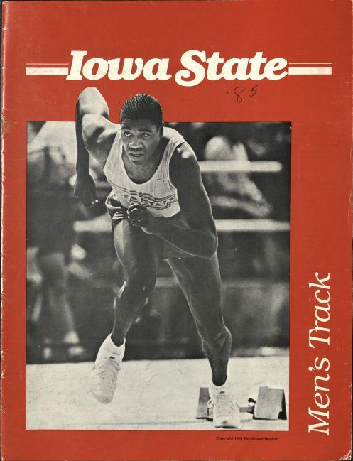 1985 media guide cover. RS 24/11/0/6 Box 1, folder 2