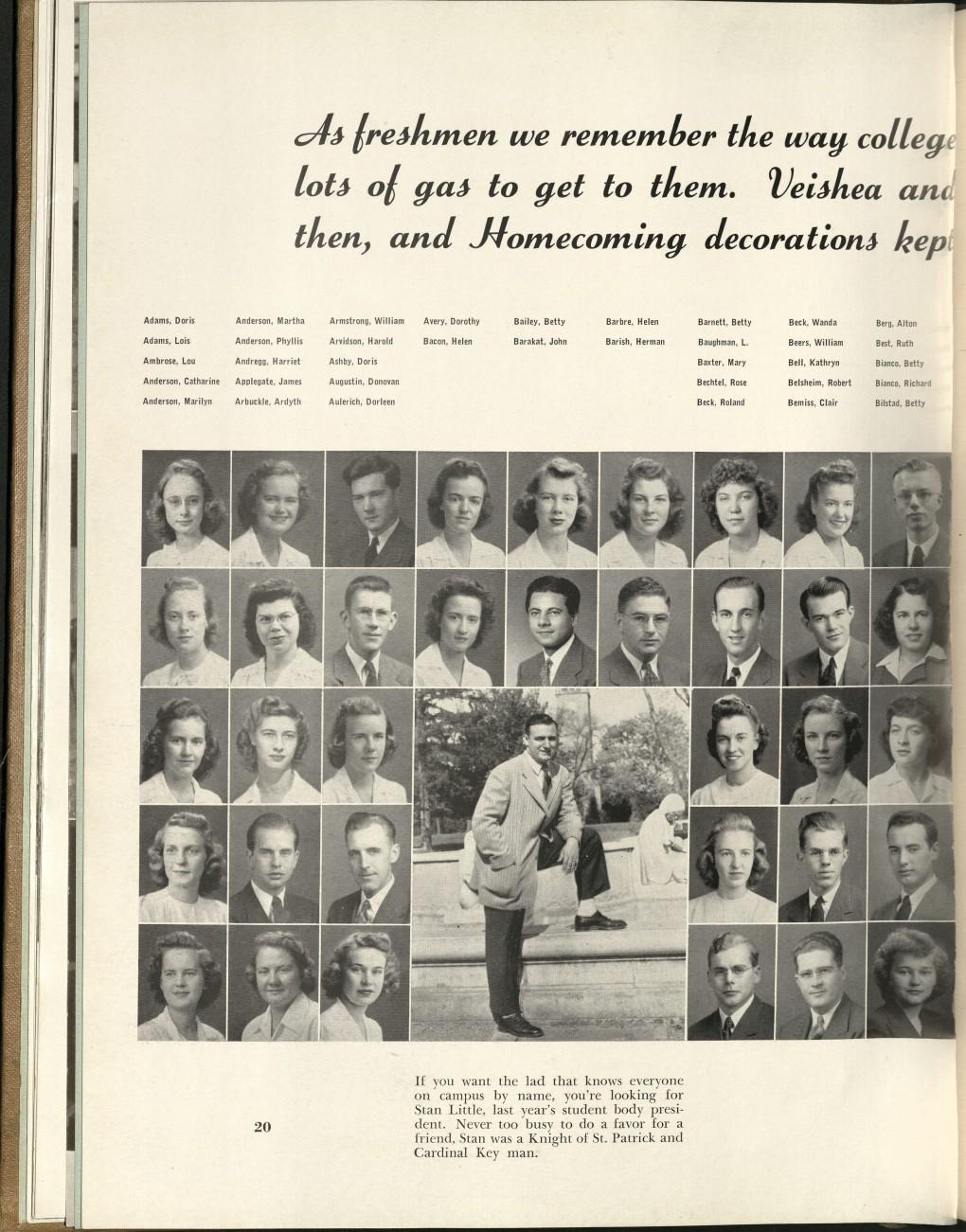 1944_Barakat with Classmates