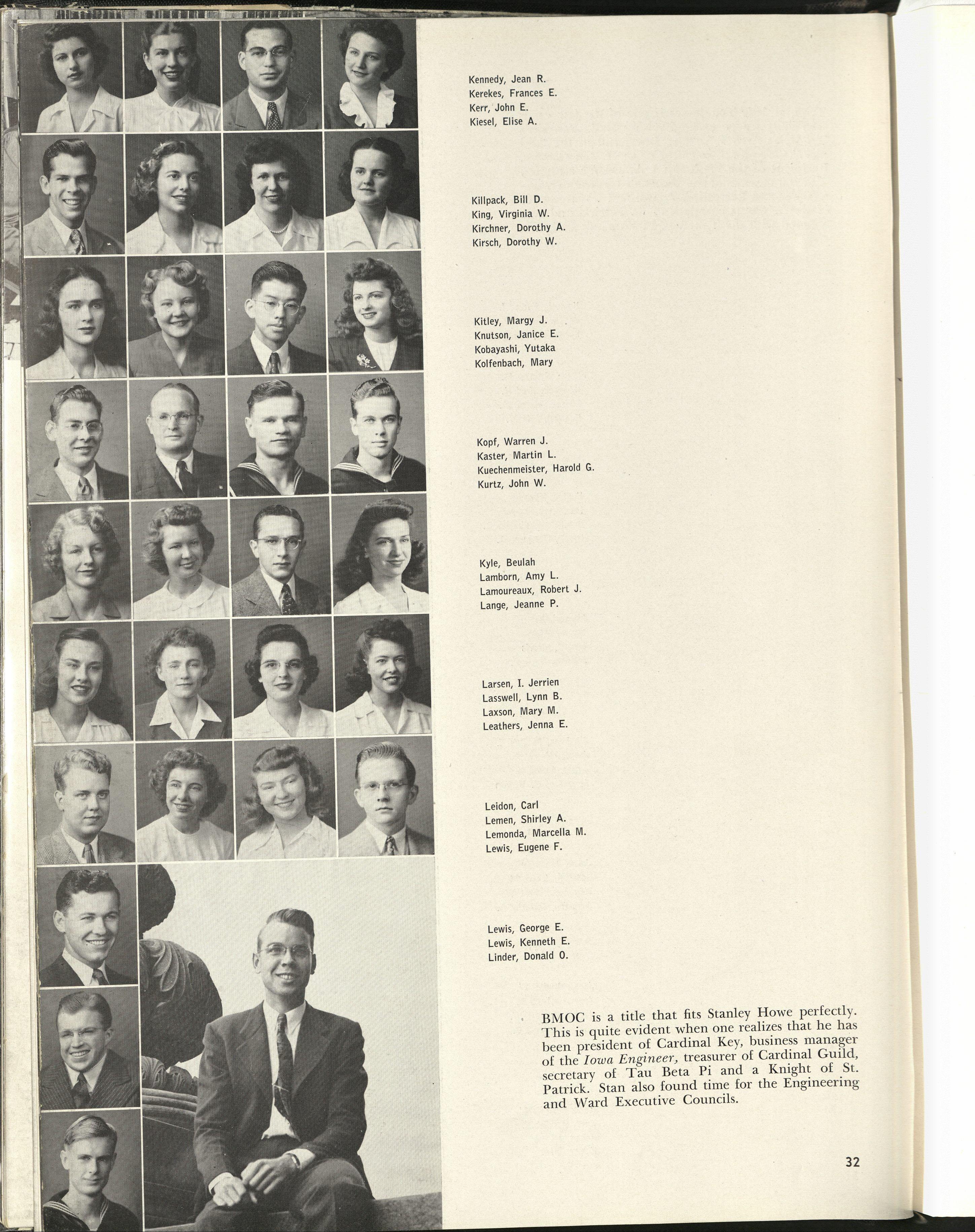 1946_Kobayashi with Classmates