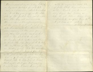 William Rankin letter dated July 6, 1864.