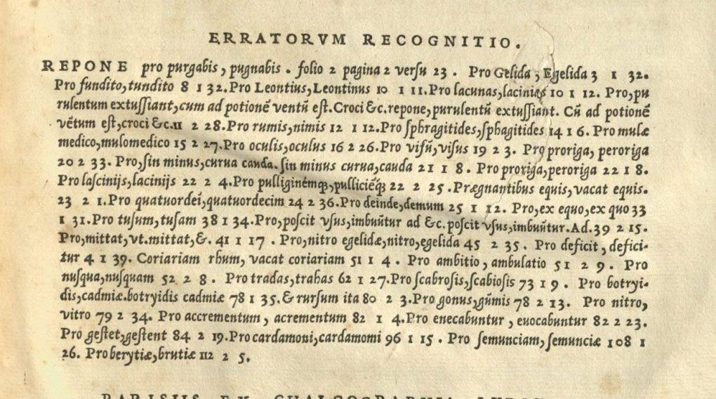 First line reads (in Latin): Repone pro purgabis, pugnabis. folio 2 pagina 2 versu 23.