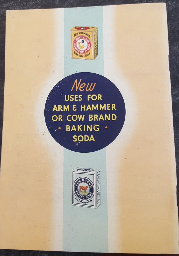 New uses for arm and hammer or cow brand baking soda