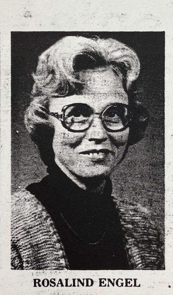 Headshot of Rosalind Engel